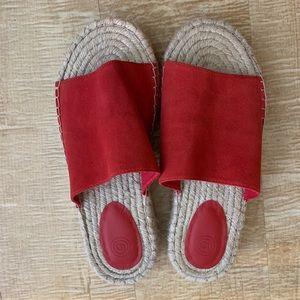Cute Red Sandals